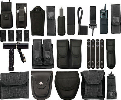 Duty Gear Pouches Rigs for Uniform Belt, Police Security Law Enforcement EMT EMS