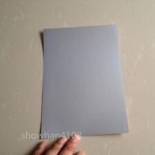 50pc A5 Waterproof PET Silver Film Self Adhesive Sticker Paper for Lazer Printer