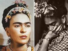 "MX06262 Frida Kahlo - 1907- 1954 Self–Taught Self Portraits Art 32""x24"" Poster"