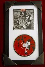 Jack White White Stripes Icky Thump Signed CD Cover Insert Framed JSA R26709
