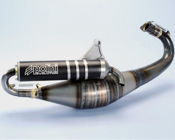200.0293 Marmitta Evolution 11 Polini Per Piaggio : Zip 50 Fast Rider