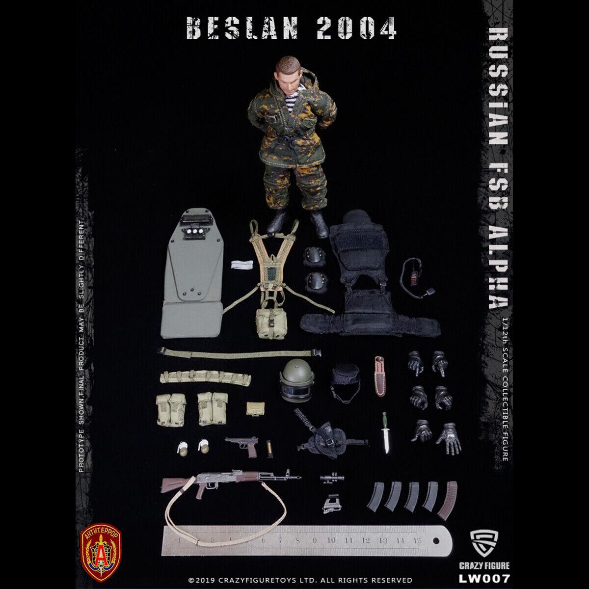Crazy cifra LW007 112 delle Forze specialeei Russe ALFA pesante SCUDO cifra a uomoo