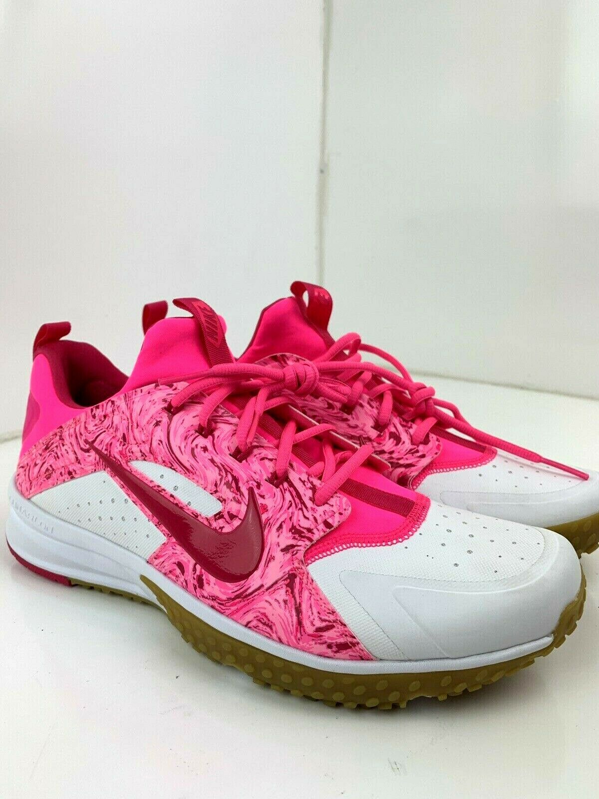 2b91604197710 Nike Men s Air Huarache Baseball Turf Trainers Size 11.5 shoes 923435-101  c7be8e