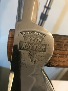 E-C-EC-Simmons-Keen-Kutter-hatchet-with-nail-puller-mirror-polished-new-handle