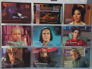 STAR-TREK-THE-NEXT-GENERATION-SKYBOX-1995-034-262-TO-270-034-WITH-JOAN-COLLINS