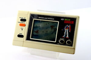 Bandai-LCD-Game-Watch-Mobile-Suit-Gundam-Japan-Good-Condition-Free-Postage