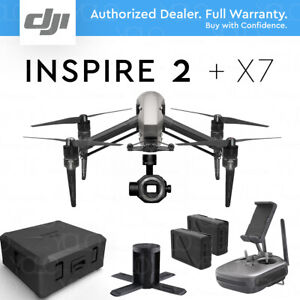 DJI INSPIRE 2 Camera Drone w/ ZENMUSE X7 Gimbal  5.2K & 6K Video 24MP stills