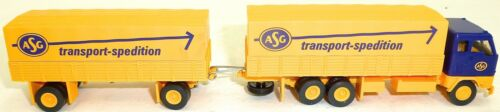 ASG transporte transportista hängerzug volvo camiones h0 1:87 hj1 Å √ *
