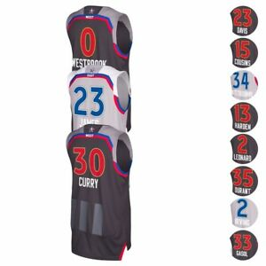 2017-NBA-Adidas-Official-East-amp-West-All-Star-Climacool-Swingman-Jersey-Men-039-s