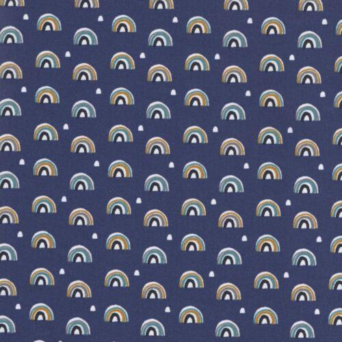 Igloo 2 BOSSES-Bleu-Tissu de Coton Enfants Quilting Couture