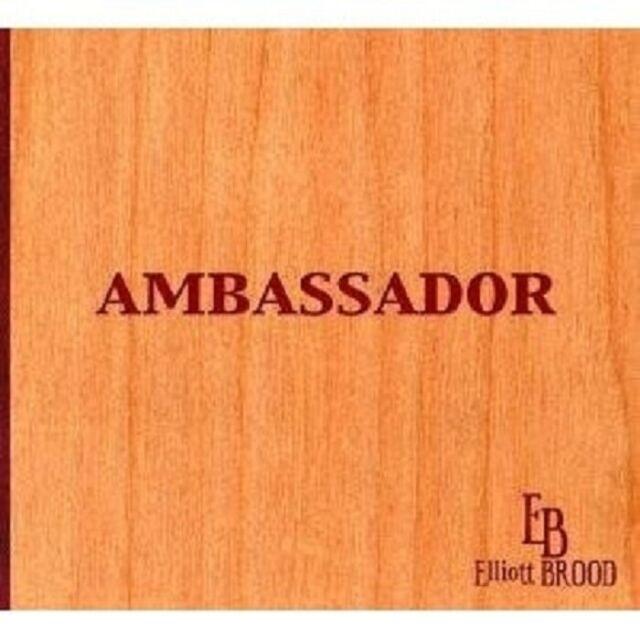 "ELLIOTT BROOD ""AMBASSADOR"" CD COUNTRY NEW"