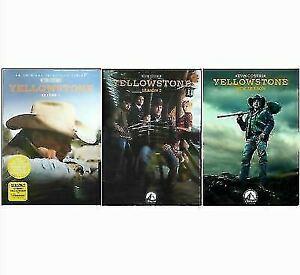 Yellowstone-Season-1-3-DVD-2020-12-Disc-Set-Brand-New-and-Sealed
