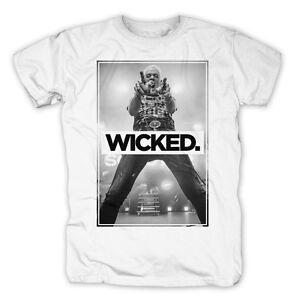 Musik Wicked Photo Weiß T-shirt Herrenmode Hingebungsvoll Scooter