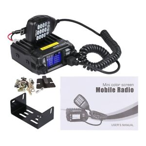 QYT-KT-8900D-Dual-Band-Quad-Standby-5Tone-VHF-UHF-Car-Truck-Ham-Mobile-Radio-QE