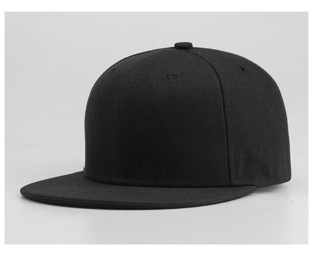 Snapback Baseball Hip Hop Plain Cap Funky Sp Retro Classic Vintage Flat Hat Uk by Ebay Seller