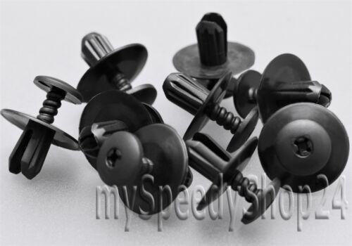 20x clip fissaggio cieco copiglie PARAURTI COFANO BMW e36 e46 e34 e39 e38