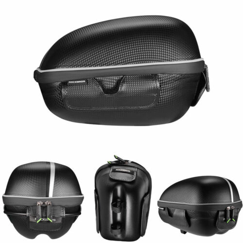 ROCKBROS Bike Bag Luggage Carrier with Quick Release Lever Carbon Fiber Black