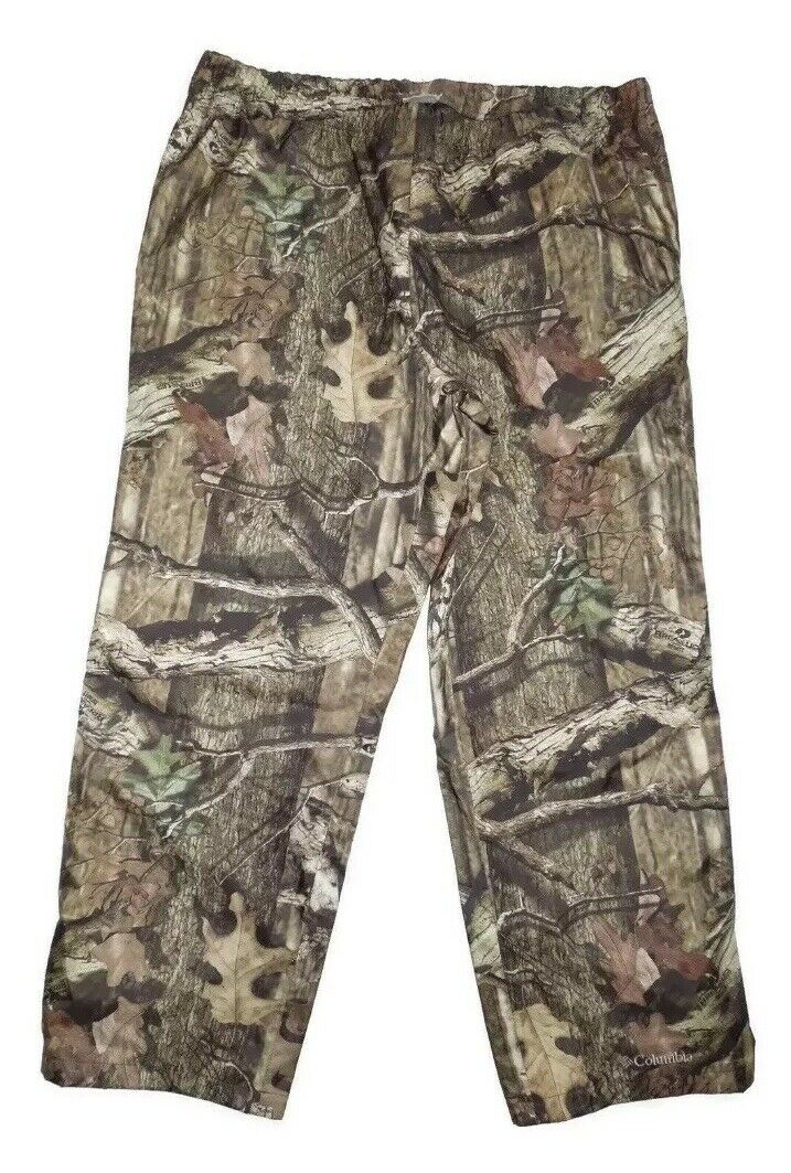 Columbia Mossy Oak Early Season Waterproof Hunting Pants Size XXL Camo