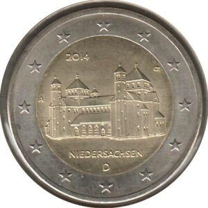 AL20014.1A - ALLEMAGNE - 2 euros commémo. Basse-Saxe - 2014 A