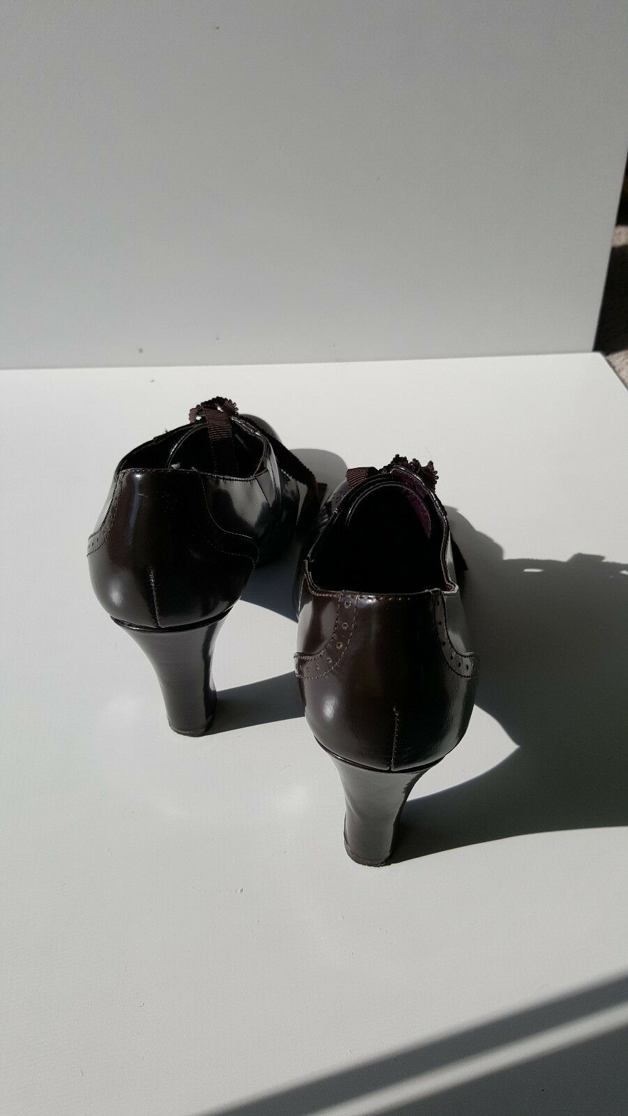 ALFANI 6 Womens Pump Heels Size 6 ALFANI M Brown BEAUTIFUL 37c7f5