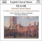 Elgar: Sacred Choral Music (CD, May-2004, Naxos (Distributor))
