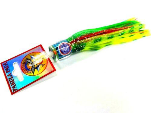 Pakula Cafard Hothead Big Game Trolling Lure-sauterelle Lumo-Glow