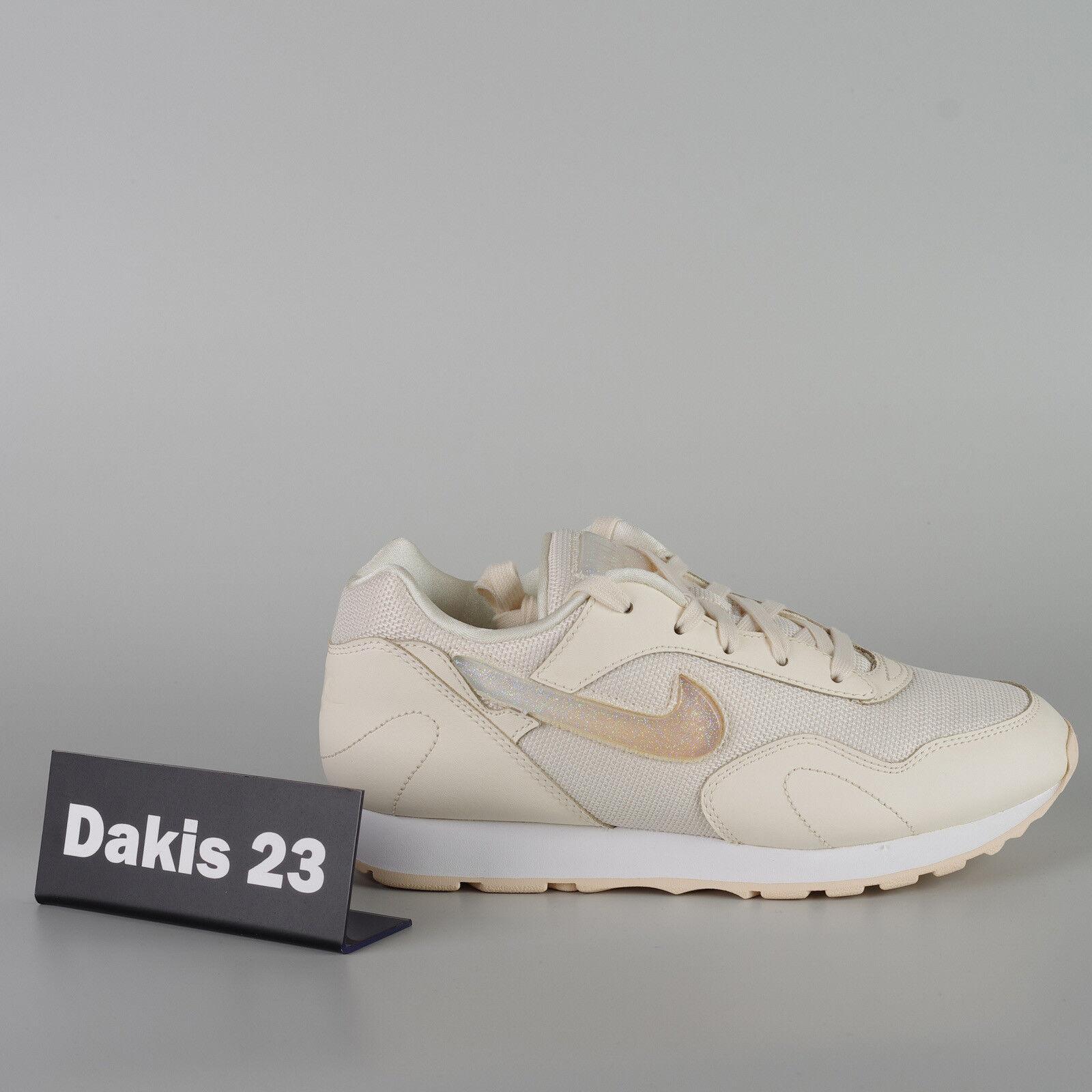 Nike W Outburst PRM donna Jelly Lifestyle scarpe da ginnastica scarpe New Ivory AQ0086-100