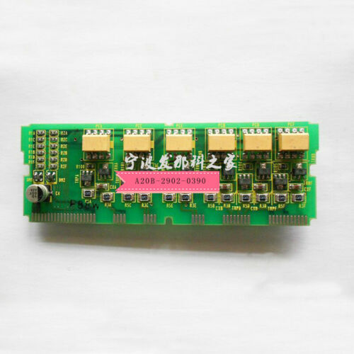 For used FANUC A20B-2902-0390 circuit board is in good condition