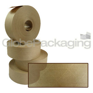 1 x Roll Of REINFORCED Gummed Paper Water Activated Tape 48mm x 100M, 130gsm 5056025171633