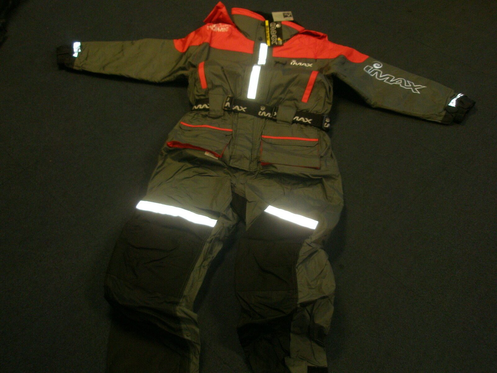 Imax ocean 1 piece floatation flotation suit-all Tailles fishing