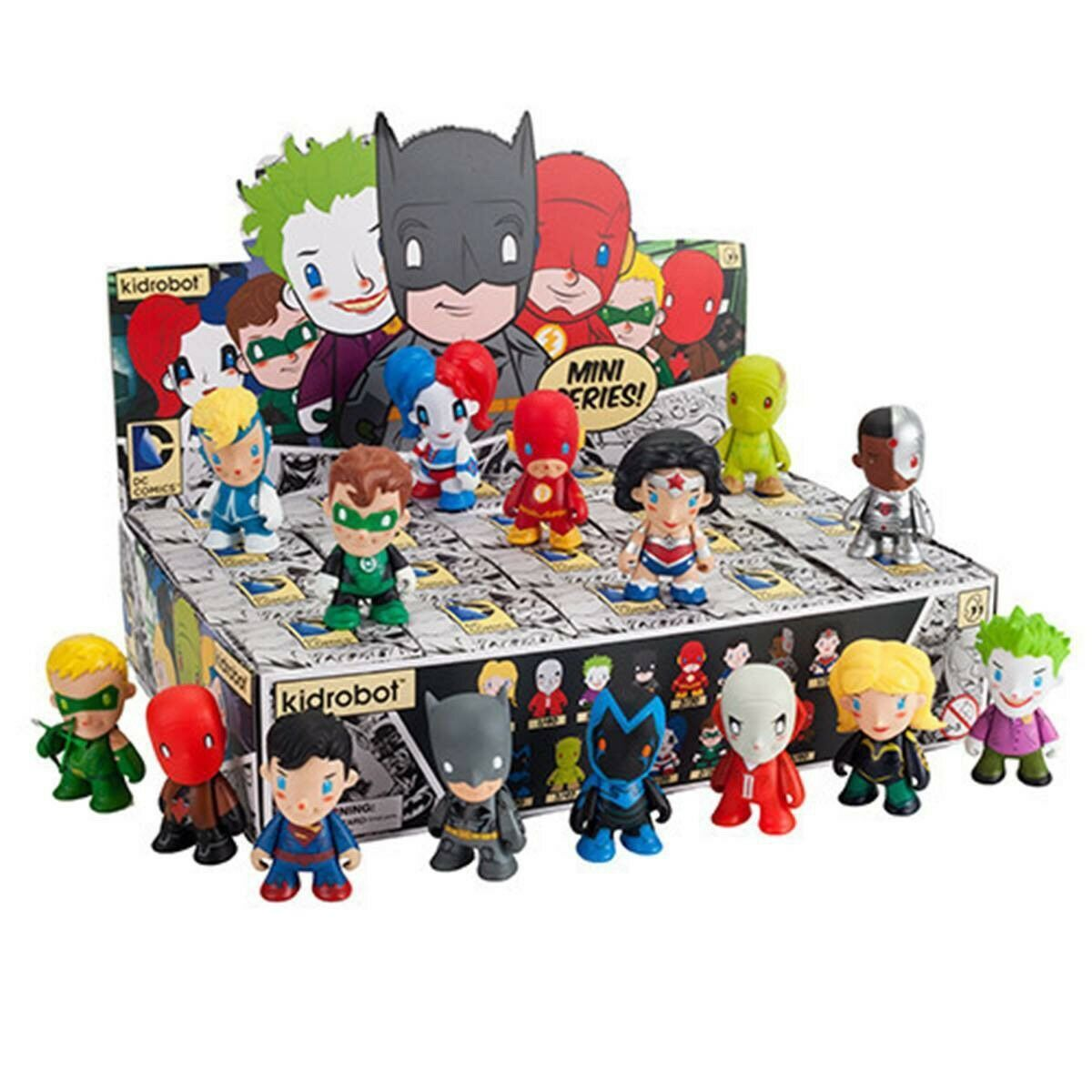 Kidrobot Kidrobot Kidrobot DC Comics - 3  Mini Series - Blind Box Collectibles - Full Set of 15 8556af