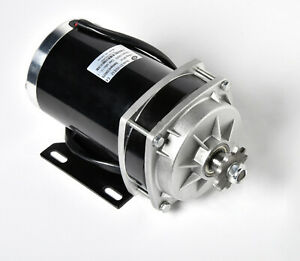 Details about 1000W 48 V DC electric motor f Quad Trike Go-Kart DIY  ZY1020ZXF gear reduction