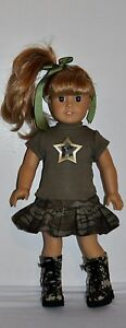AMERICAN-MADE-DOLL-CLOTHES-FOR-18-INCH-GIRL-DOLLS-DRESS-LOT-034-CAMO-SET-034