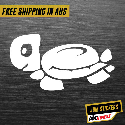TURTLE JDM JDM CAR STICKER DECAL Drift Turbo Euro Fast Vinyl #0425
