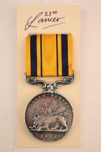 ROYAL NAVY SAILORS BRITISH ARMY TROOPS MILITARY FORCES SOUTH AFRICA MEDAL 1853