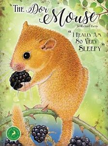DORMOUSE-COUNTRY-RODENT-WILDLIFE-METAL-PLAQUE-TIN-SIGN-OTHER-ANIMALS-LISTED-1258