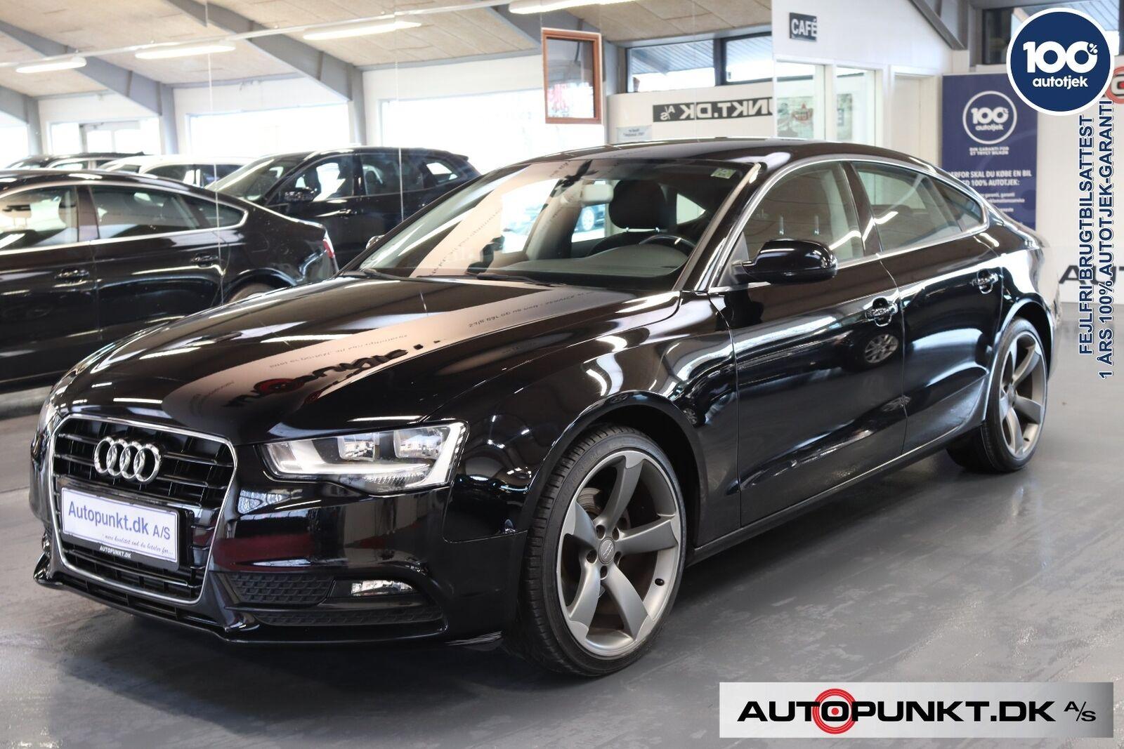 Audi A5 1,8 TFSi 177 Sportback Multitr. 5d - 279.700 kr.