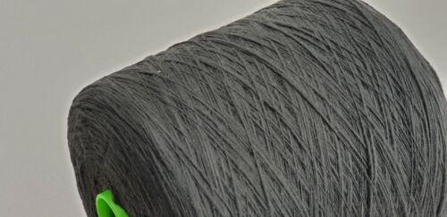 900 g algodón llamas Garn gp 9,90 €//kg gris nm 6 konengarn tejer ganchillos
