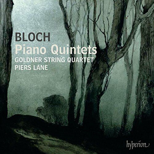 Goldner String Quartet - Bloch: Piano Quintets [CD]