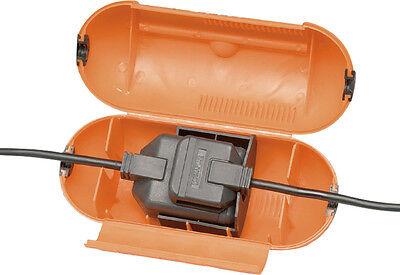 Masterplug Outdoor Garden Power Splashproof Plug 1 Gang Socket Cover - FREE P&P