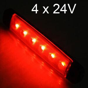 Luci di posizione per camion 20 pezzi SMD 24 V 12 V giallo 9 LED