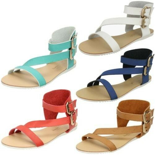 Gentleman/Lady Ladies Savannah Flat Asymmetrical Strap Mule Modern and and elegant fashion Highly praised and and appreciated by the consumer audience Current shape 5872e4