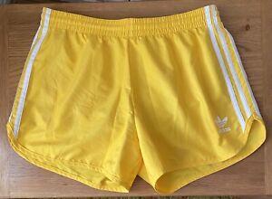 ADIDAS 3 Stripe SPLIT Climalite Pantaloncini Corsa  Taglia Media