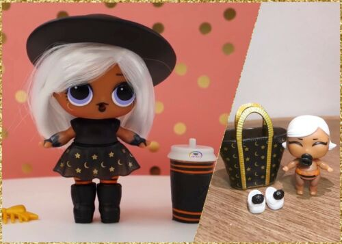 LOL Surprise Hair Goals Big+Lil Witchay Babay Witchy Baby bb SISTERS~2 Dolls Lot