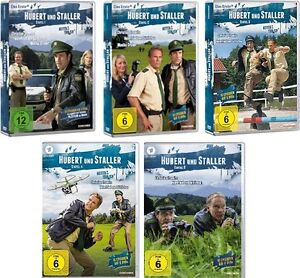 30-DVDs-HUBERT-UND-STALLER-STAFFEL-1-5-IM-SET-Tramitz-NEU-OVP