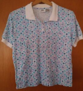 000-Vintage-Jason-Maxwell-Club-Polo-Style-Shirt-Size-Small-Golf
