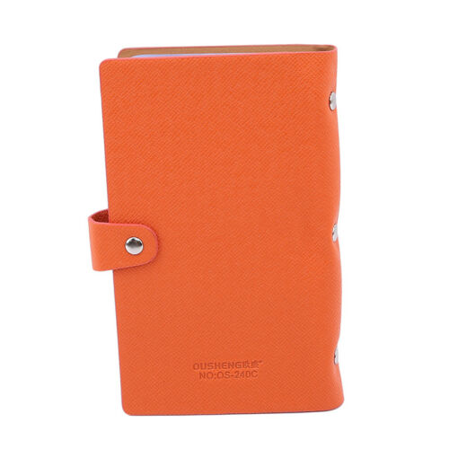 Business Card Holder  Sleeve Wallet Book Store 240 Capacity Y2