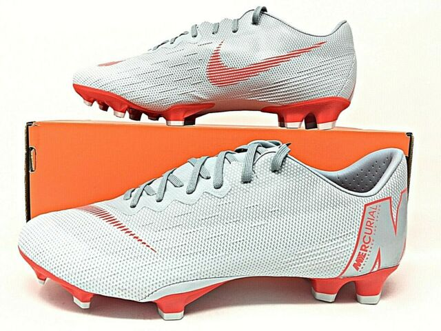 quality design af2b0 29764 Nike Mercurial Vapor 12 Pro FG Cleats (wolf Grey) Ah7382 060 US Size 12