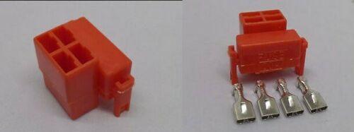 Honda CBX CH250 CMX450 CRF 150 230 CX 500  starter relay//solenoid plug connector