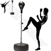 Punching Bag Reflex Boxing Free Standing Speed Strike Training Home Gym Fitness